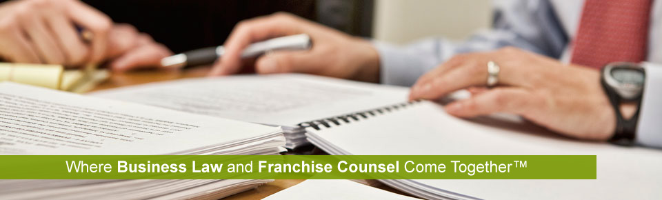 Business Law and Franchise Counsel Chicago Attorney